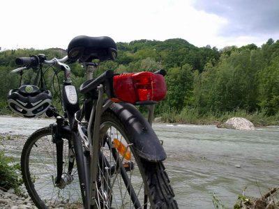Ciclovia sul Fiume Secchia in sponda modenese