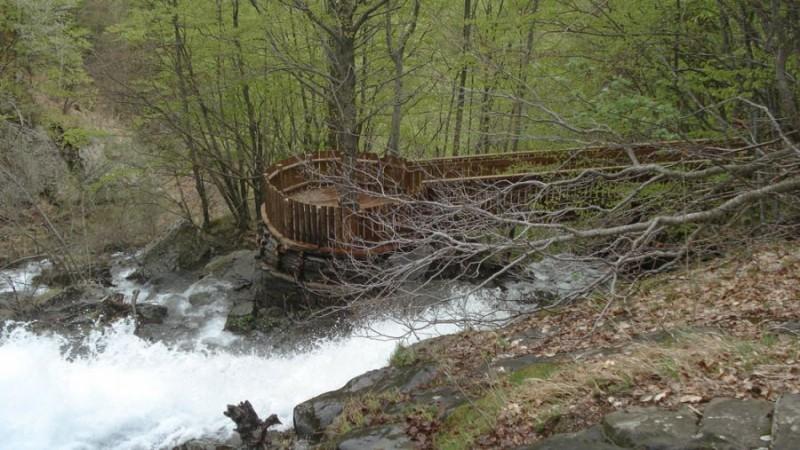 Cascate per tutti – Percorso di accesso alle Cascate del Doccione (Fanano-MO)